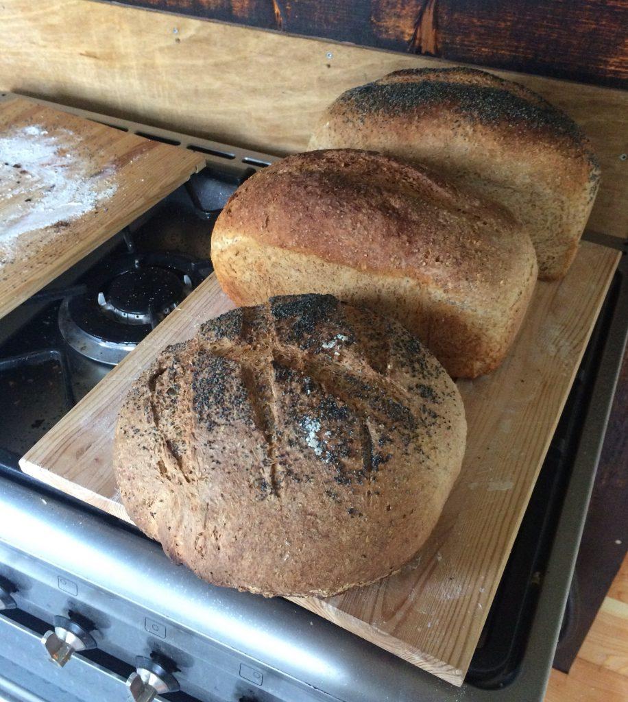 Huisgebakken brood